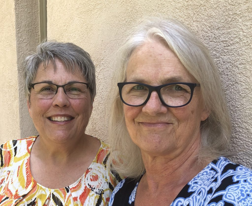 Lisa Mason Ziegler and Susan Yoder Ackerman.